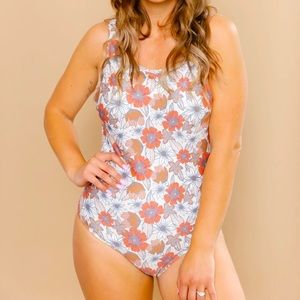 Imagine Perry everyday wildflower swimsuit, Size S